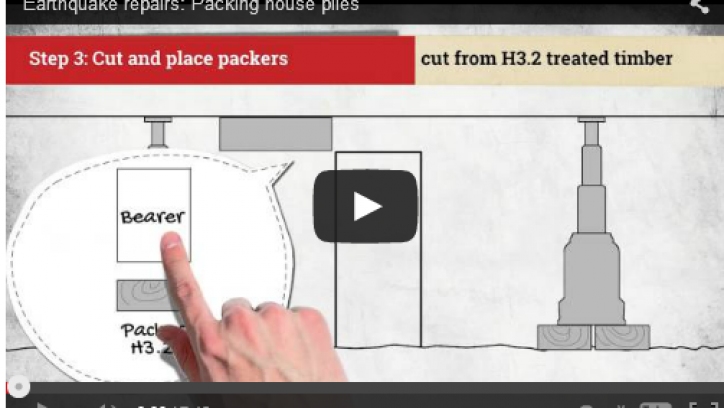 Packing house piles video