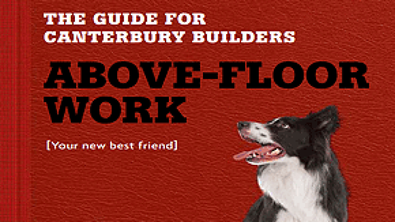 Above-floor work – Canterbury builder guide image