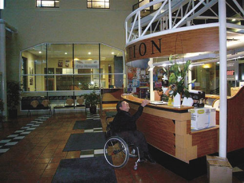 Accessible Counter Height Nz : Wheelchair users or people of short stature, including children ...