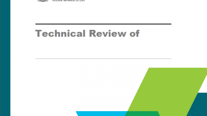 Example cover of a technical review document
