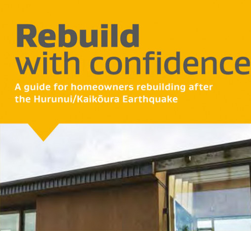 Cover of the Rebuild with Confidence document