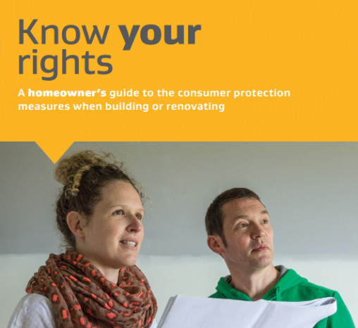 Cover of the Know Your Rights document