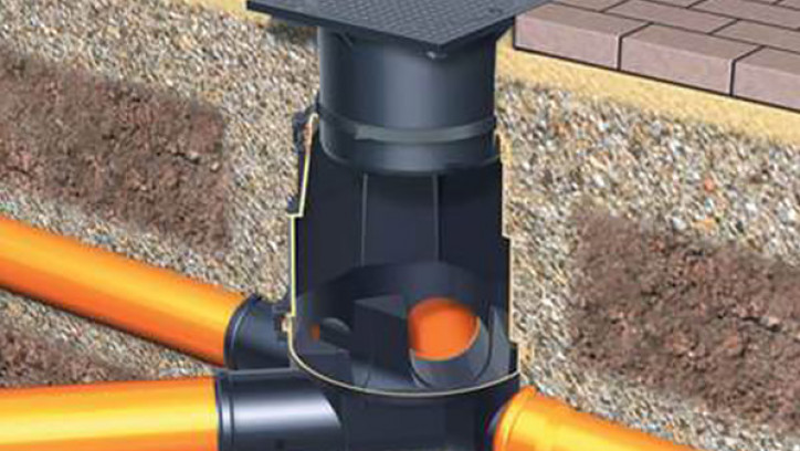 Access point to underground drainage pipes